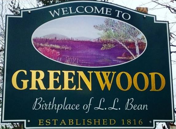 Greenwood Welcome Sign